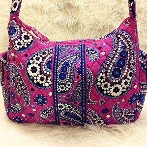 Vera Bradley purse adjustable purple
